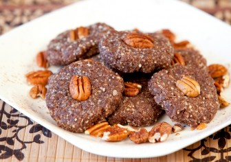 Chocolate Pecan Spice Cookies