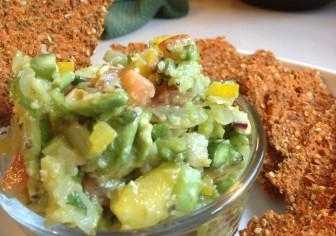 Asparagus Lime Salsa
