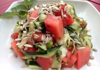 Cool Me Down Watermelon Salad
