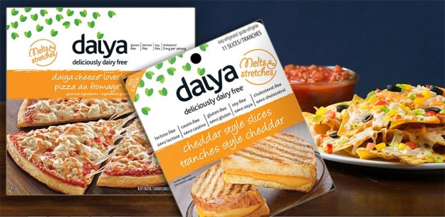 A couple of Daiya's non-dairy cheese products.