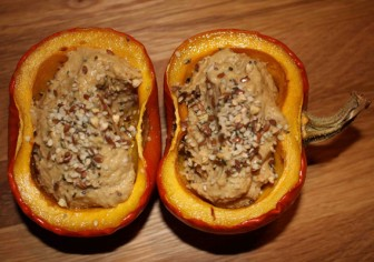 Creamy Fig Pumpkin Pudding