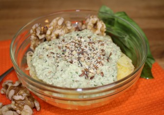 Walnut Ginger Pesto